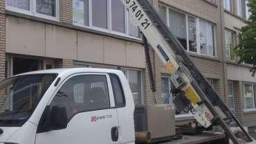 Ladderlift service met operator