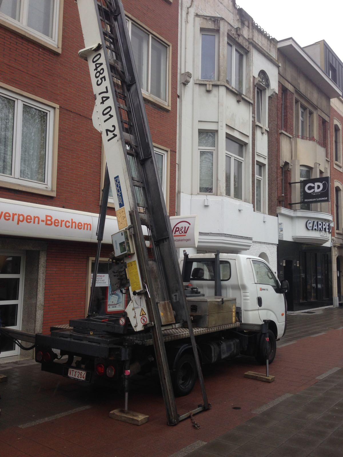 Ladderlift service nodig in Antwerpen